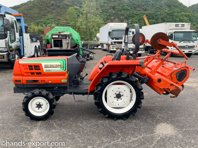 HINOMOTO Tractor NX19 676hour side view