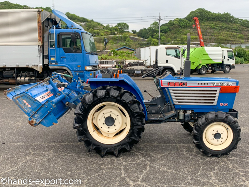 ISEKI Tractor TL2701F side view