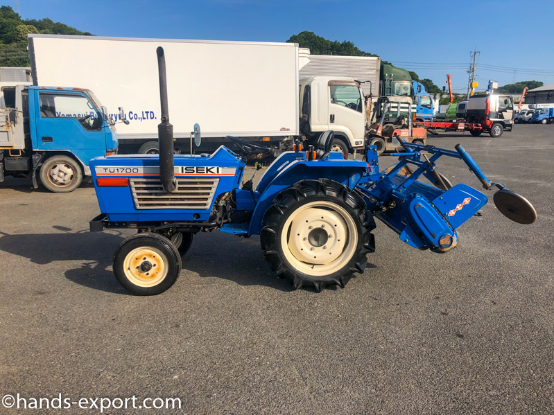 ISEKI Tractor TU1700S 886hour side view
