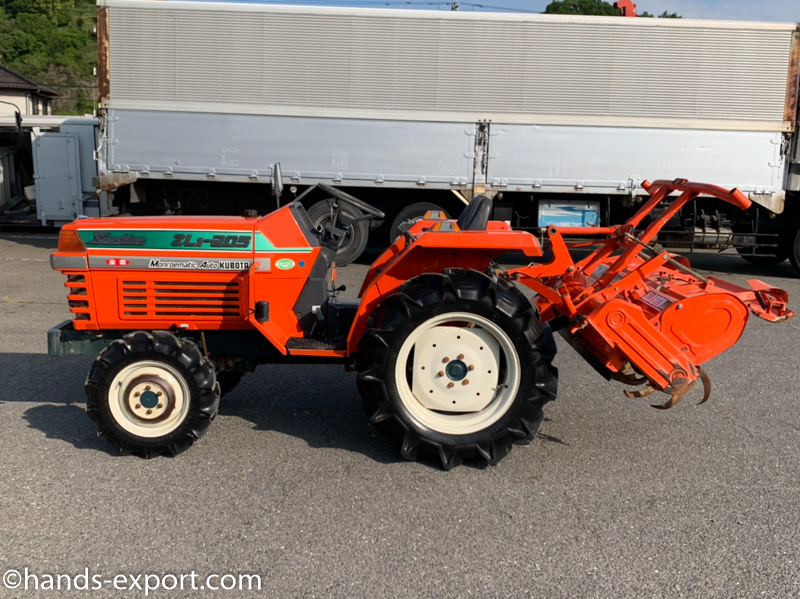 KUBOTA Tractor GL19 side view