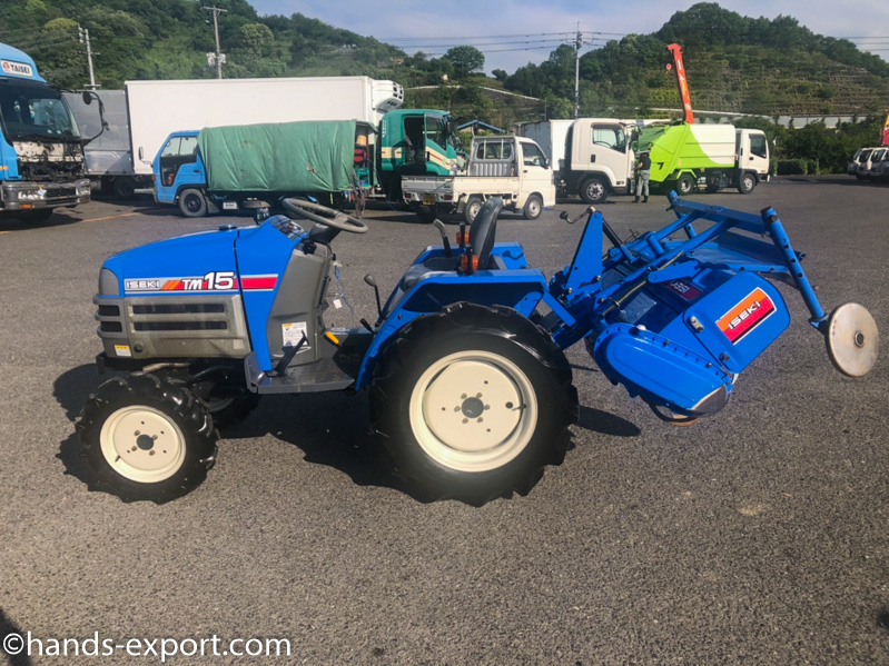 ISEKI Tractor TU2100F 343hour side view