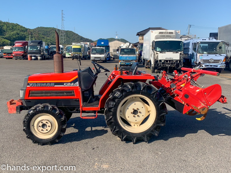 YANMAR Tractor F20S 622hour side
